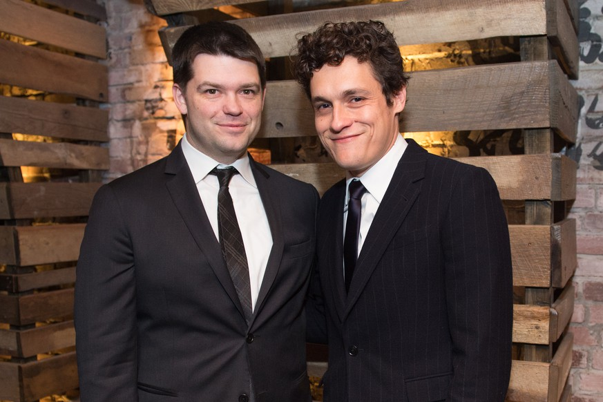 "FILE - In this Jan. 5, 2015 file photo, Chris Miller, left, and Phil Lord at the New York Film Critics Circle Awards at TAO Downtown, in New York. Laugh it up fuzzballs: Han Solo is getting his own movie, and it's going to be helmed by ""Lego Movie"" directors Miller Lord. Disney announced Tuesday, July 7, 2015, that the ""Star Wars"" spinoff will be released on Memorial Day weekend in 2018. (Photo by Scott Roth/Invision/AP, File)"