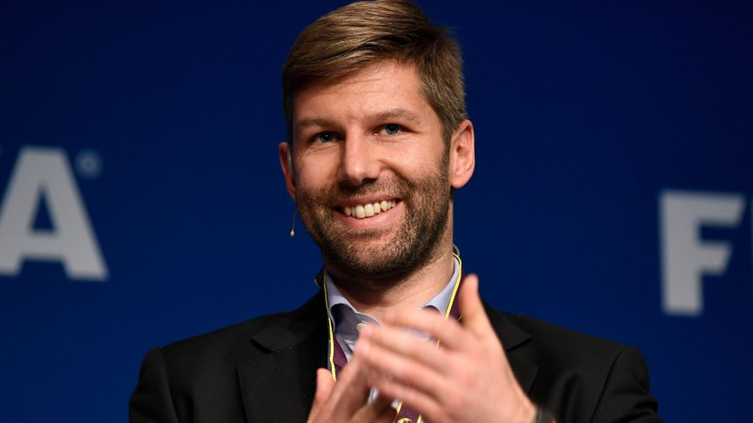 ZURICH, SWITZERLAND - MARCH 06: Thomas Hitzlsperger,former captain of the German men's national team, during the FIFA Annual Conference for Equality & Inclusion at the Home of FIFA on March 6, 2017 in Zurich, Switzerland. (Photo by Valeriano Di Domenico - FIFA/FIFA via Getty Images)