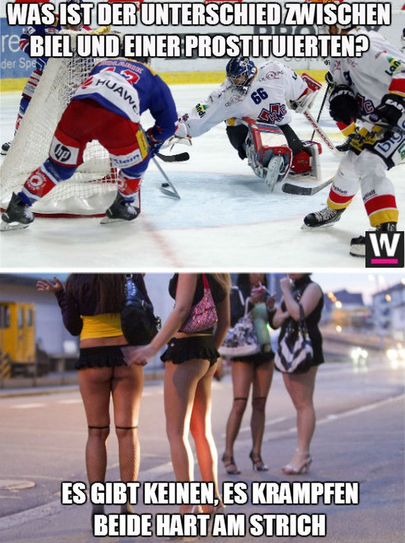 12 Kurze Witze Zu Den Schweizer Eishockey Klubs Watson