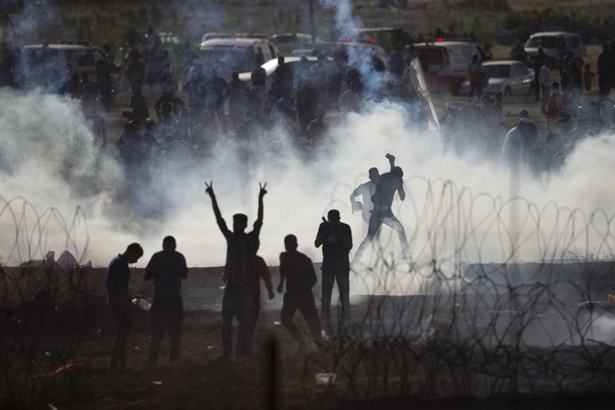 Die UNO macht Israel verantwortlich für Hunderte Verletzte und etliche Tote.  Bild AP  AP