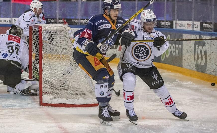Lugano gewinnt auch in Zug – Niederlagen für Rappi, Ambri und die SCL Tigers