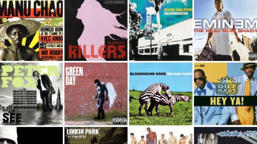 Die watson-User haben gewählt – das sind die grössten Musik-Hits der 2000er-Jahre