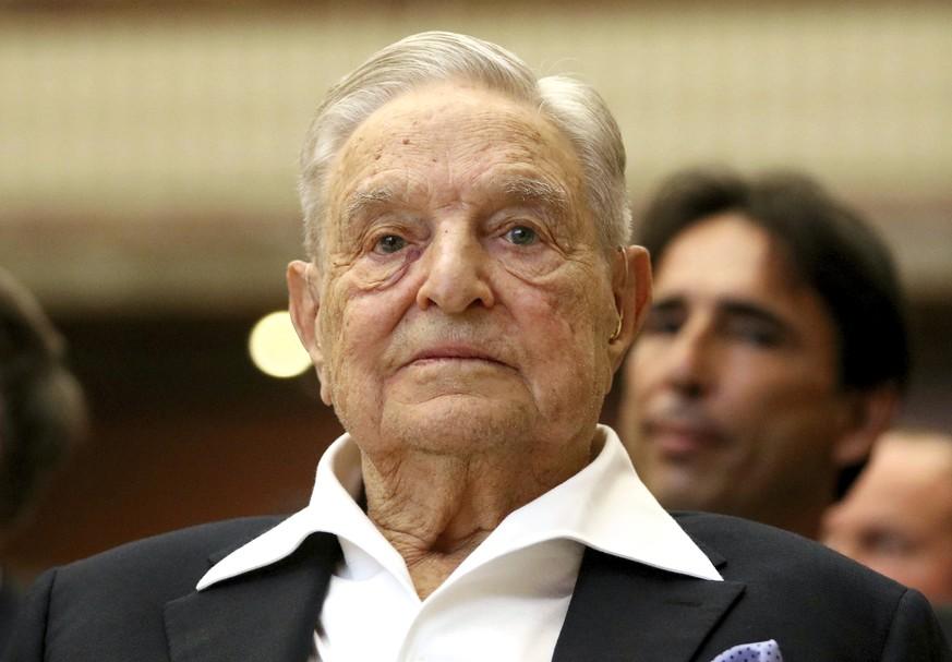 George Soros attackiert Trump und Xi Jinping und spendet eine Milliarde
