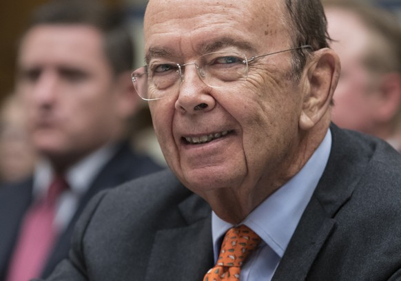 In this Oct. 12, 2017, photo, Commerce Secretary Wilbur Ross appears before the House Committee on Oversight and Government Reform on Capitol Hill in Washington. President Donald Trump's tax plan includes a repeal of the federal estate tax paid by people who inherit multimillion-dollar estates. That break could directly benefit people with valuable art collections. Trump's wealthy cabinet includes a number of art collectors. Ross, for one, owns several paintings by Belgian surrealist Rene Magritte and reported a collection worth more than $50 million on his financial disclosure forms. (AP Photo/J. Scott Applewhite)