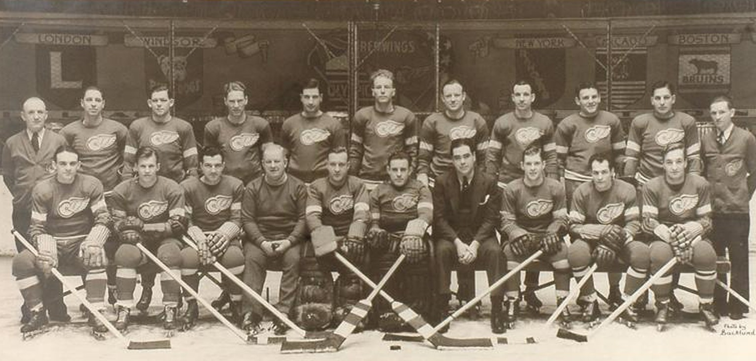 detroit red wings 1936 längstes spiel montreal maroons 24. märz