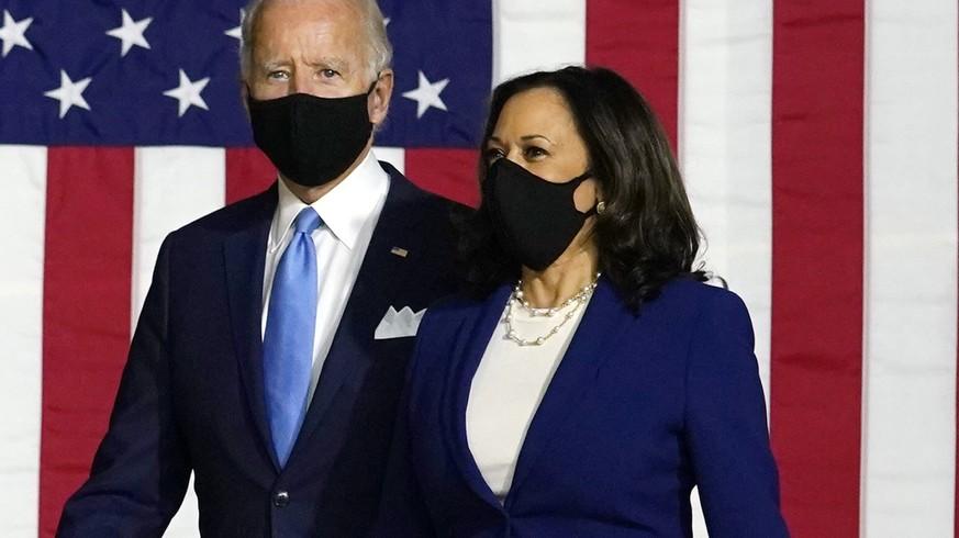 «Jammern ist, was er am besten kann»: Biden und Harris knöpfen sich Trump vor
