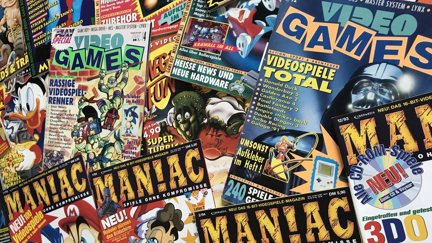 19 kultige videospiel magazine aus den 90ern die jeder. Black Bedroom Furniture Sets. Home Design Ideas