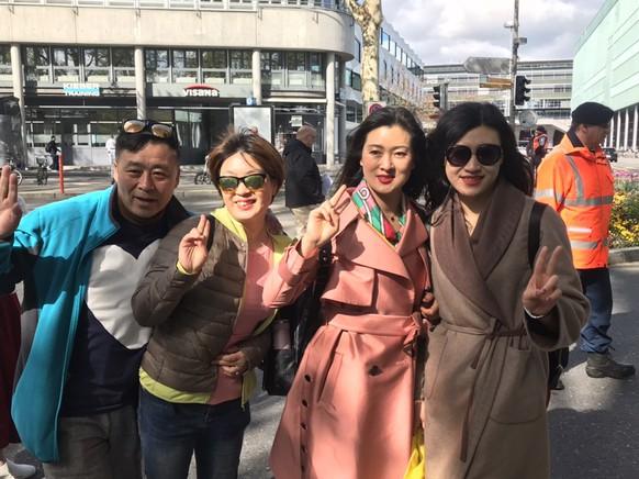 luzern chinesische touristen chinese tourists jeunesse global 13. mai lucerne