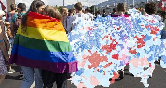 Diese Gemeinden haben sich in den letzten 16 Jahren am LGBT-freundlichsten entwickelt