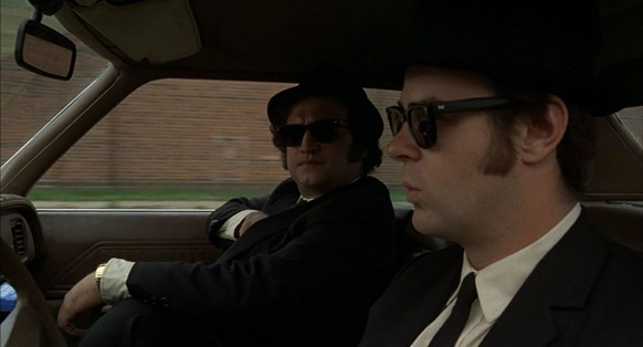 blues brothers jake elwood blues john belushi dan aykroyd http://reggiestake.com/2013/02/12/the-blues-brothers-bluesmobile-quote/
