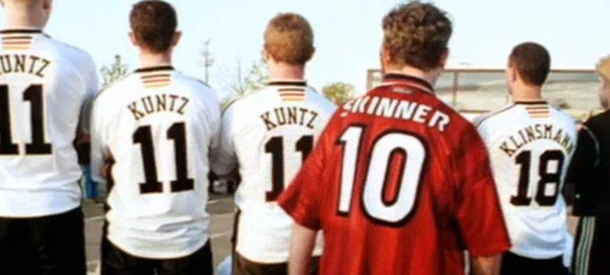 Kuntz Klinsmann Skinner Three Lions Football's Coming Home