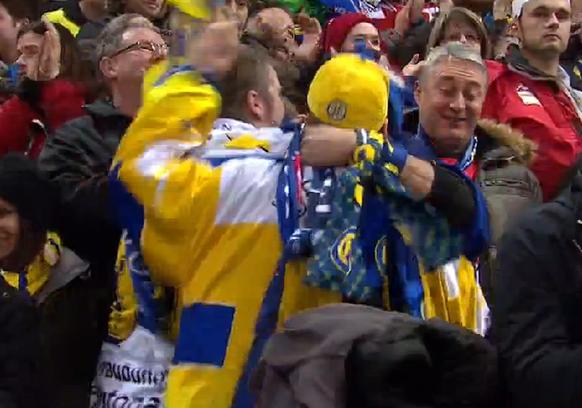 Fans Spengler Cup
