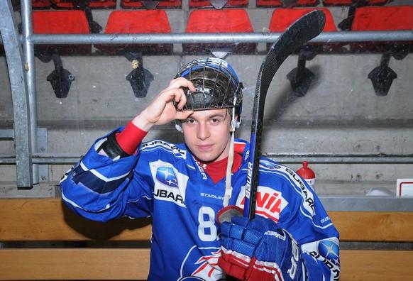 28.01.2014; Kuesnacht ZH;  Eishockey NLB - GCK Lions - HC Thurgau; Denis Malgin (GCK Lions) (Waldemar Da Rin/freshfocus)