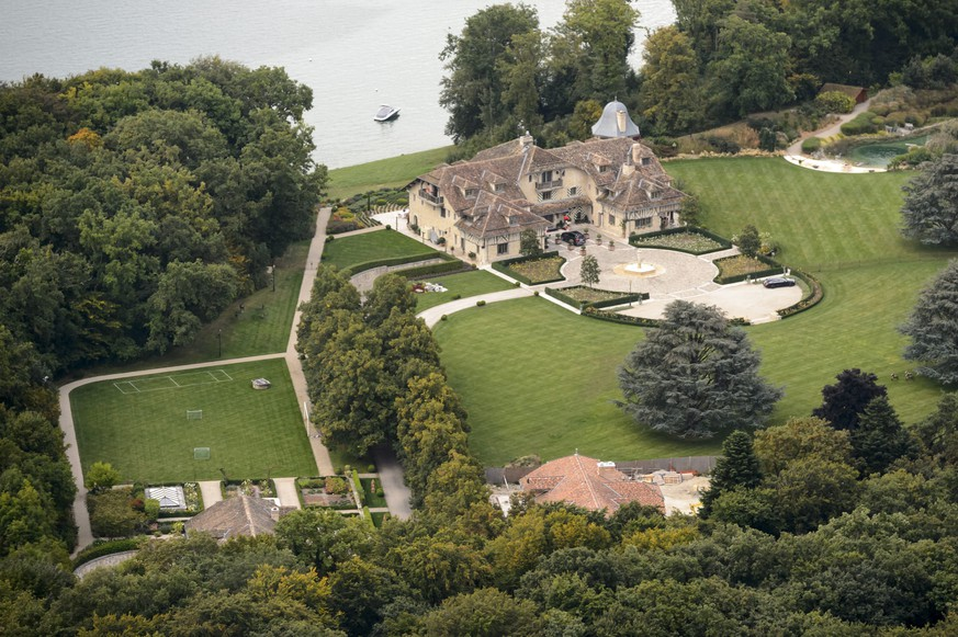 epa04392756 An aerial view of the property