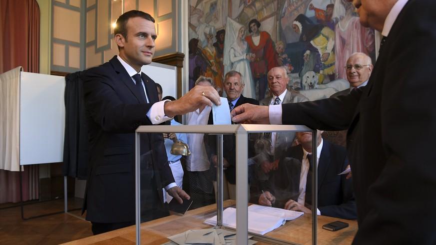 Parlamentswahl-Sieger Macron hat freie Hand für Reformen