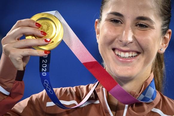 <strong>Belinda Bencic, Gold</strong> Tennis, Frauen, Einzel