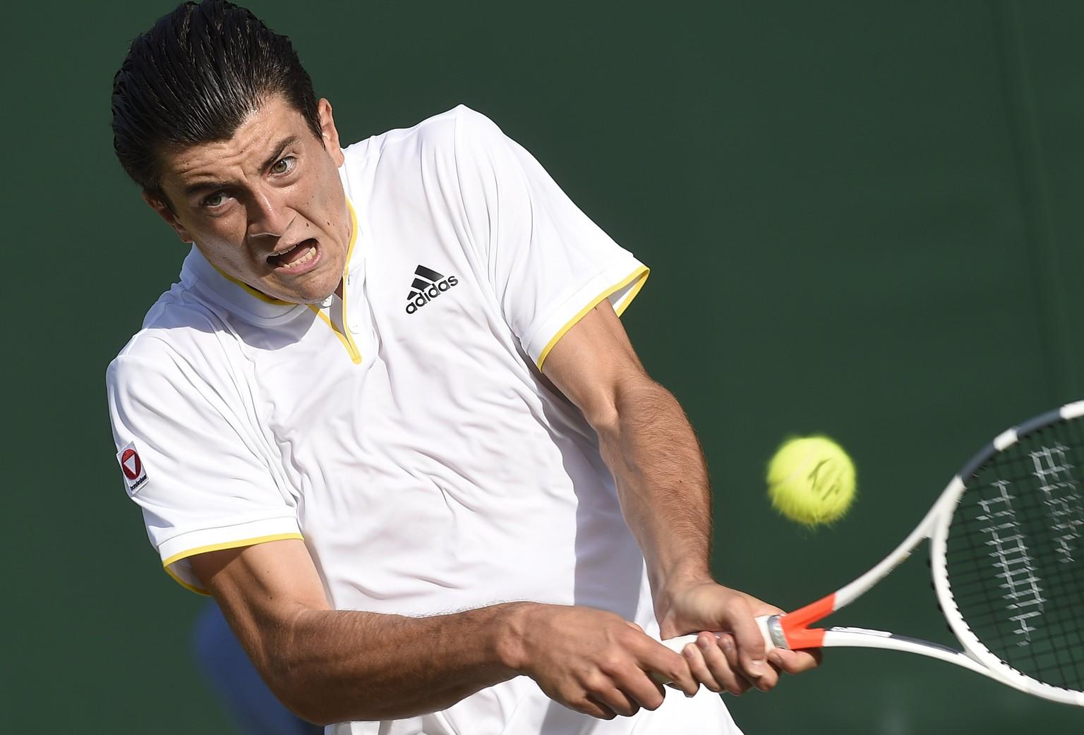 Tennis-Sensation im Porträt: Sebastian Ofner startet in ...