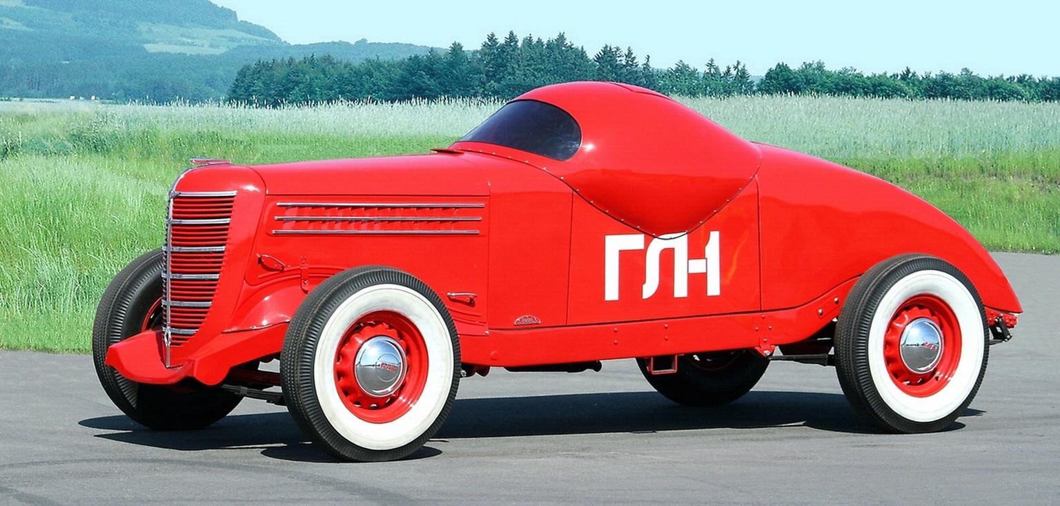 http://sharonov.tumblr.com/post/29674102911/this-is-gaz-gl-1-built-by-russian-car-maker-gaz-in sowjet russisches auto hot rod