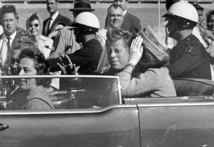 Trump will Geheimakten zur Ermordung von John F. Kennedy freigeben