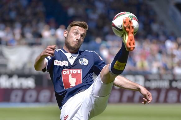 10.05.2015; Luzern; Fussball Super League -  FC Luzern - FC Thun; Fidan Aliti (Luzern) (Martin Meienberger/freshfocus)
