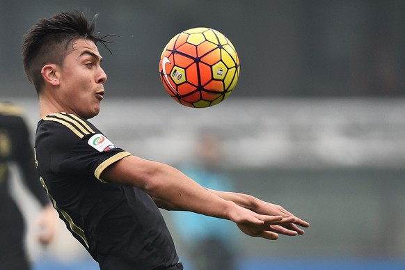 31.01.2016; Verona; Fussball Serie A - Chievo Verona - Juventus Turin; Paulo Dybala (Juventus) (Andrea Staccioli/Insidefoto/freshfocus)