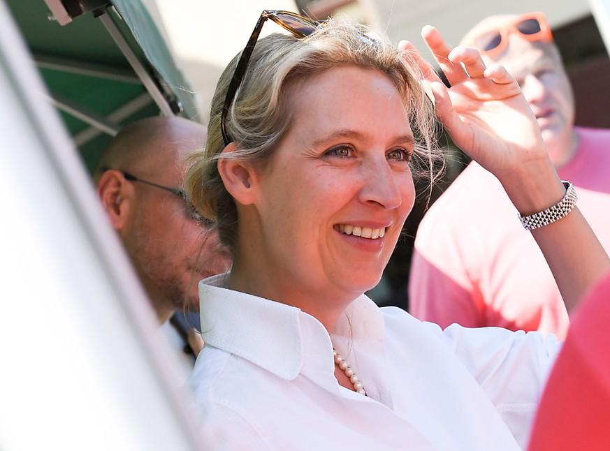 AFD-Politikerin Alice Weidel ist heimlich wieder in die Schweiz gezogen