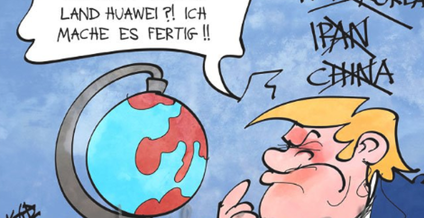 So spottet das Internet über Trumps Kriegserklärung an Huawei