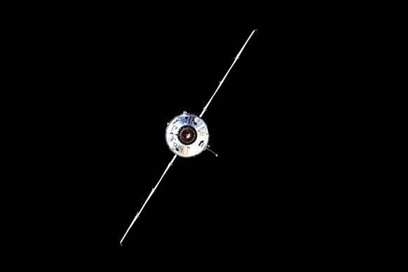 Das «Nauka»-Modul von der ISS aus fotografiert.
