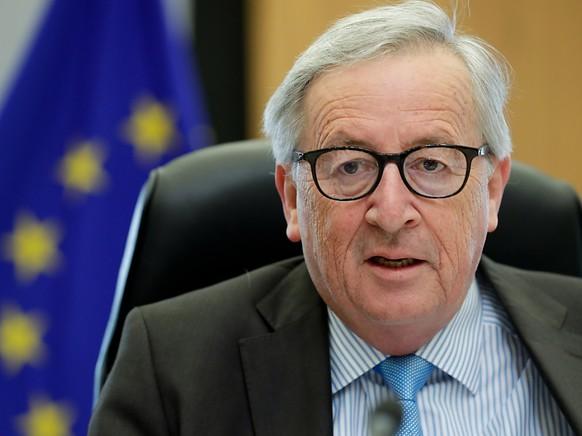 EU-Kommissionspräsident Jean-Claude Juncker hat vom Bundesrat einen Brief erhalten. Darin verlangt der Bundesrat Klärungen zum Rahmenabkommen mit der EU. (Archivbild)