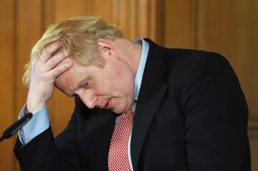 Boris Johnson ist mit dem Coronavirus infiziert