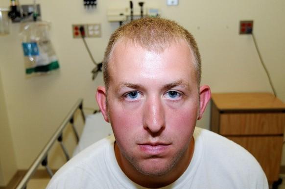 Kein Polizeidienst mehr: Darren Wilson Bild: St. Louis County Prosecutor. « - 6139039221321463