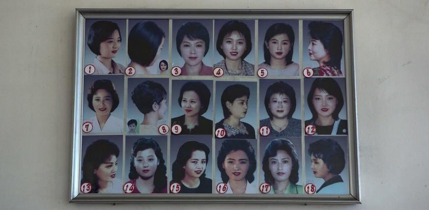 Wir Präsentieren Die Paar Frisuren Die In Nordkorea