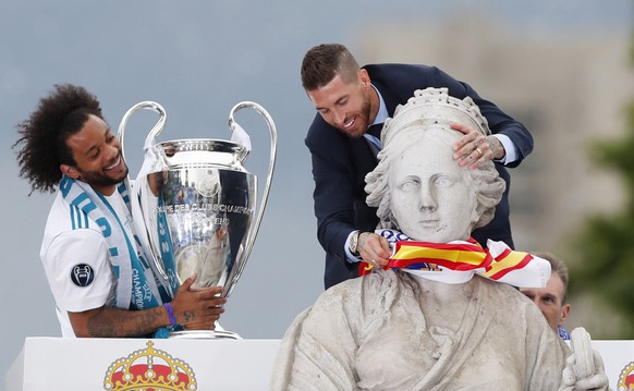 SPAIN SOCCER UEFA CHAMPIONS LEAGUE REAL MADRID