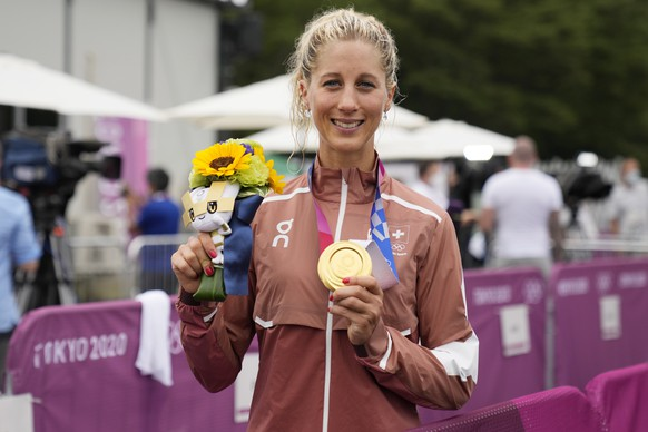 <strong>Jolanda Neff, Gold</strong> Mountainbike