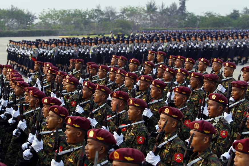 EU-Sanktionen gegen Militärs in Myanmar