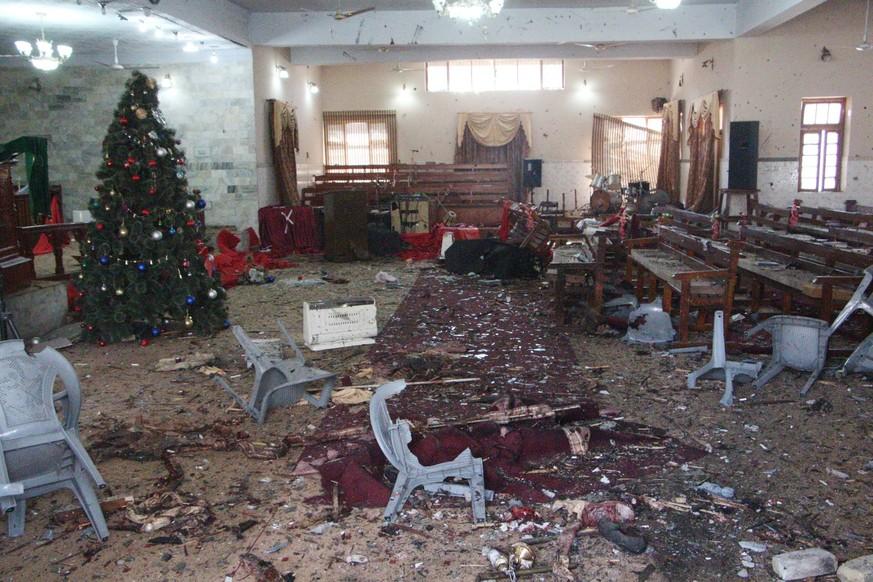 Anschlag auf Kirche in Pakistan: IS-Terrormiliz bekennt sich