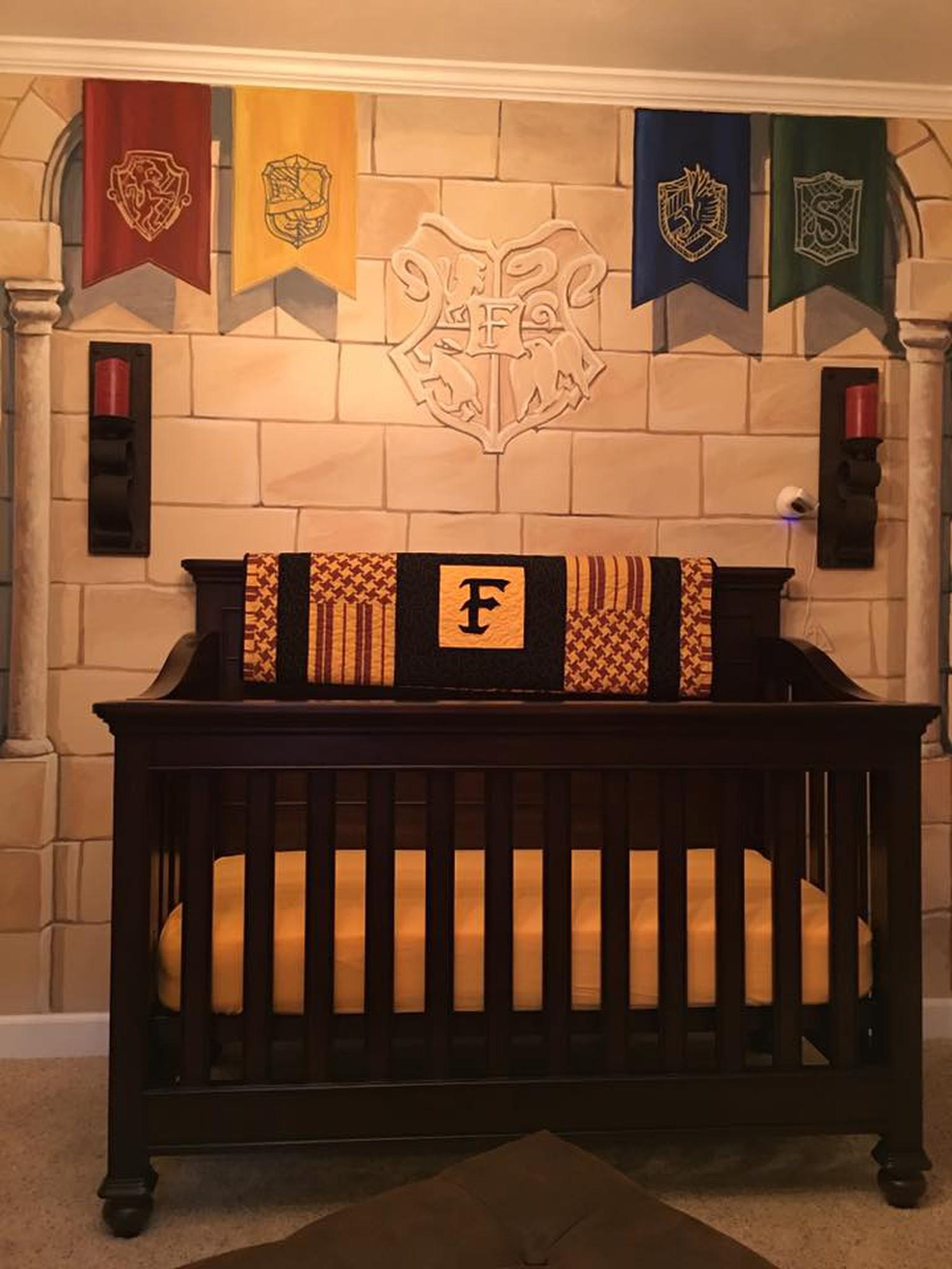Dieses Kinderzimmer ist ein Traum für alle Harry-Potter-Fans ...