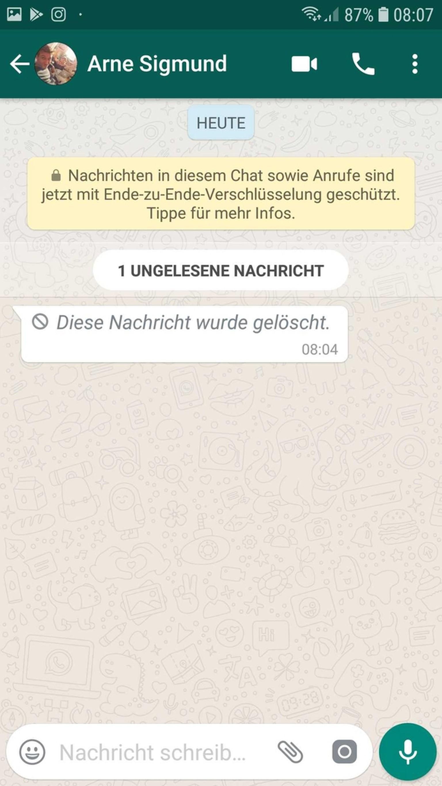 Gelöschte nachrichten whatsapp lesen iphone