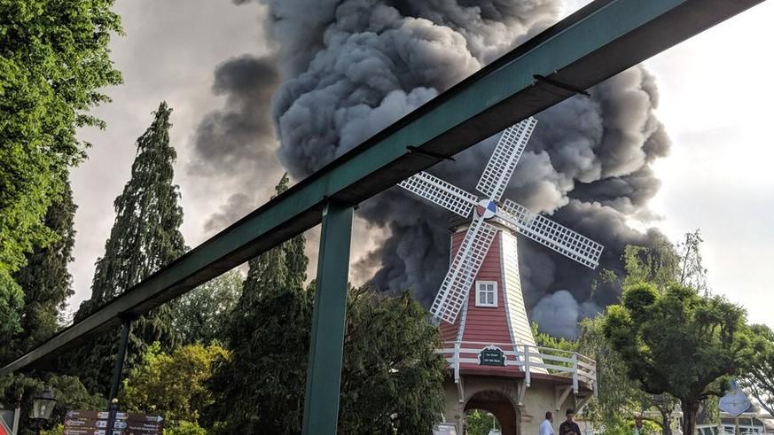 Großbrand Im Europapark
