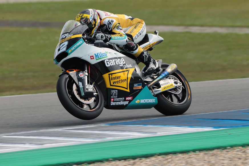 Assen, 26.06.2015, Motorrad Strassen WM, Grand Prix Holland, Qualifying, Moto2, Tom Luethi. (Marco Guidetti/IPP/EQ Images) SWITZERLAND ONLY