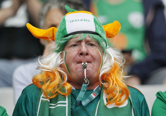 Football Soccer - Republic of Ireland v Sweden - EURO 2016 - Group E - Stade de France, Saint-Denis near Paris, France - 13/6/16