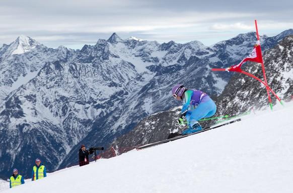 25.10.2014; Soelden; Ski Alpin - Weltcup Soelden - Riesenslalom Frauen; Tina Maze (SLO) (Johann Groder/Expa/freshfocus)