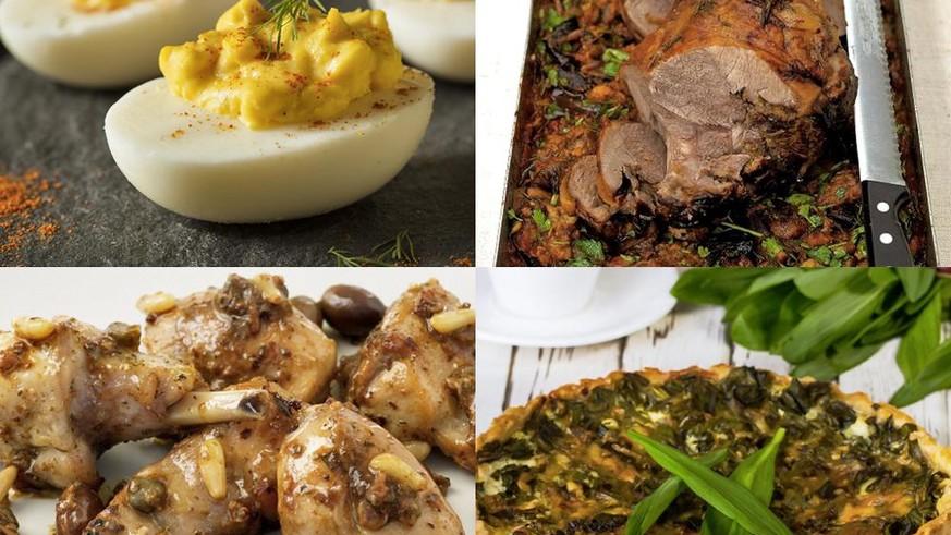 Was kocht ihr so am Ostersonntag? Wir hätten ein paar Menüvorschläge