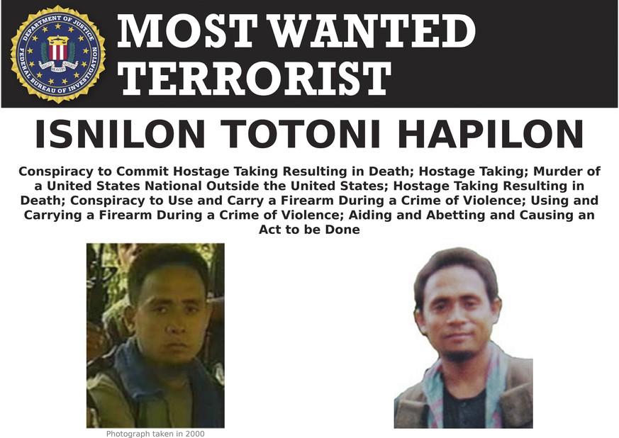 Philippinen: Bekannter Islamist Hapilon nach Regierungsangaben getötet