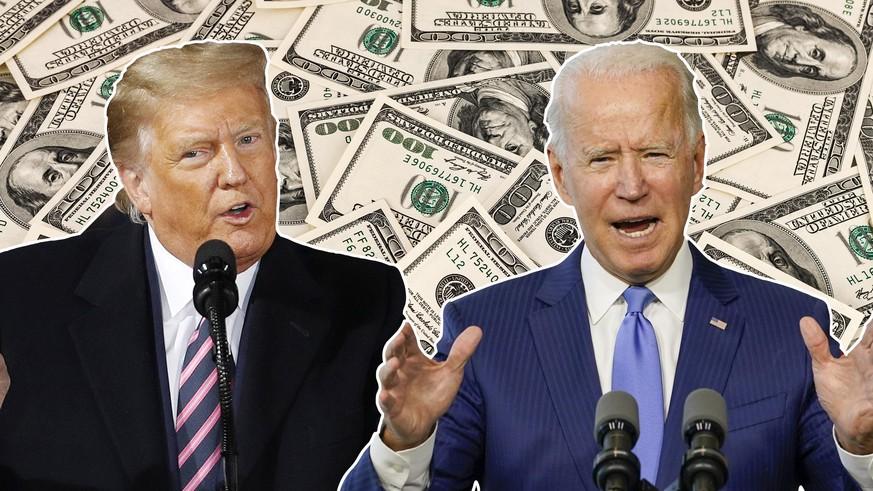US-Wahlen 2020: Donald Trump vs. Joe Biden – die unheimliche Rolle des Geldes