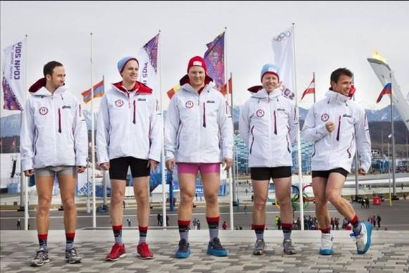 norwegen unterhosen curling