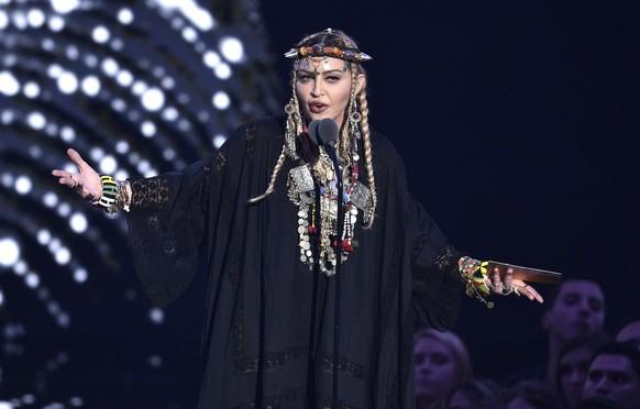 Trauerrede für Aretha Franklin? Von wegen! Madonna singt Loblied auf sich selbst