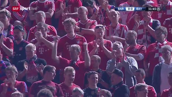 Bayernfans im Camp Nou