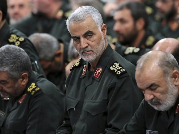 Nach dem Tod des iranischen Generals Ghassem Soleimani (Bild) durch das US-Militär hat Iraks Schiitenführer Moktada al-Sadr seine Anti-US-Miliz reaktiviert. (Archivbild)