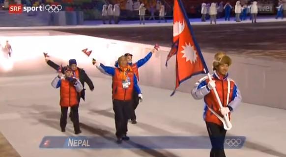 Nepal Einmarsch Sotschi